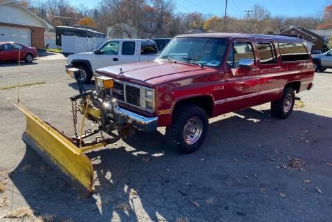 1988 GMC Suburban for sale at TNT Auto Sales in Bangor PA