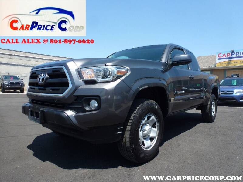 2016 Toyota Tacoma for sale at CarPrice Corp in Murray UT