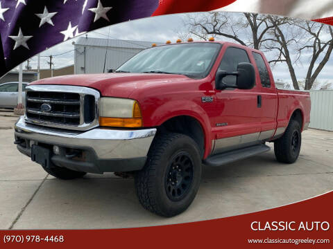2001 Ford F-250 Super Duty for sale at Classic Auto in Greeley CO