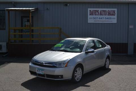 2010 Ford Focus for sale at Dave's Auto Sales in Winthrop MN
