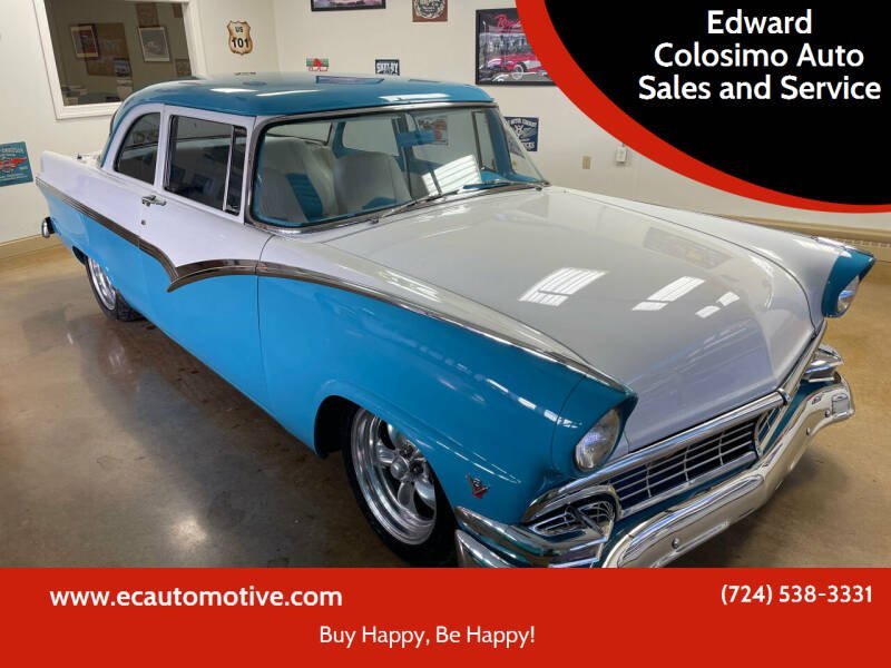 1956 Ford Fairlane for sale at Edward Colosimo Auto Sales and Service in Evans City PA