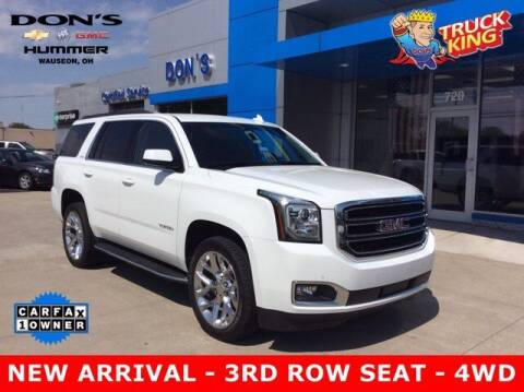 2018 GMC Yukon for sale at DON'S CHEVY, BUICK-GMC & CADILLAC in Wauseon OH