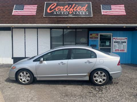2007 Honda Civic for sale at Certified Auto Sales, Inc in Lorain OH
