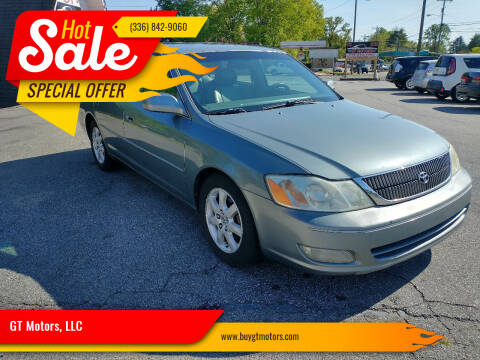 2001 Toyota Avalon for sale at GT Motors, LLC in Elkin NC