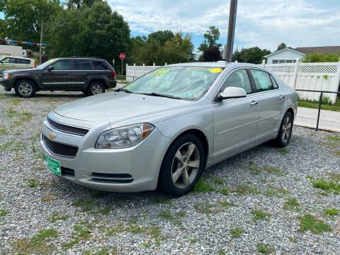 2012 Chevrolet Malibu for sale at McNamara Auto Sales - Red Lion Lot in Red Lion PA