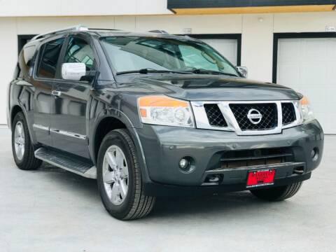 2011 Nissan Armada for sale at Avanesyan Motors in Orem UT