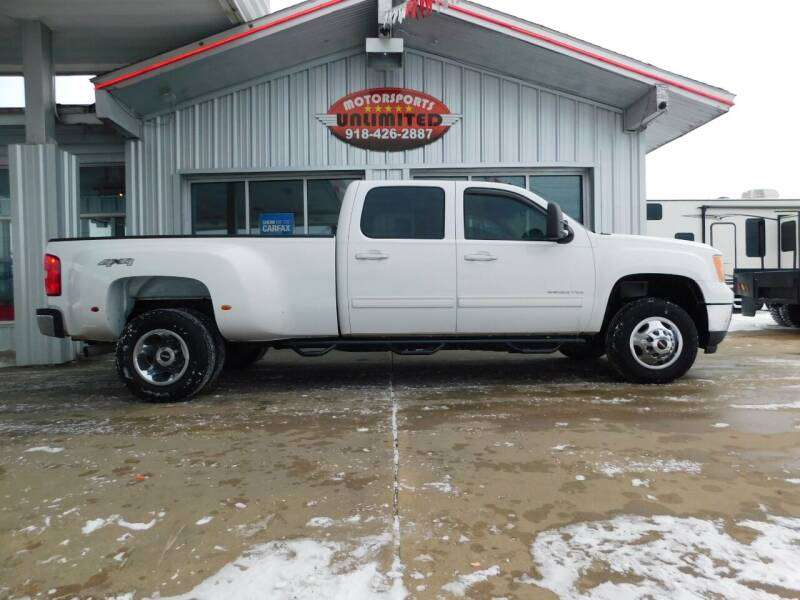 2011 GMC Sierra 3500HD for sale at Motorsports Unlimited in McAlester OK
