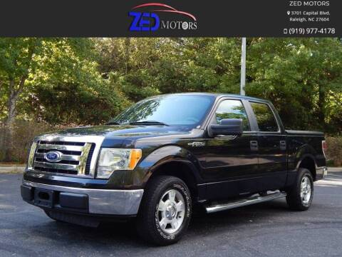 2010 Ford F-150 for sale at Zed Motors in Raleigh NC
