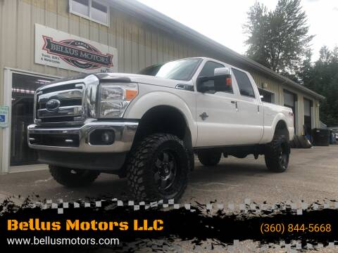 2016 Ford F-350 Super Duty for sale at Bellus Motors LLC in Camas WA