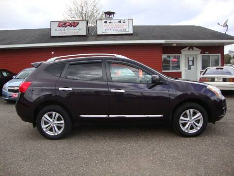 2013 Nissan Rogue for sale at G and G AUTO SALES in Merrill WI
