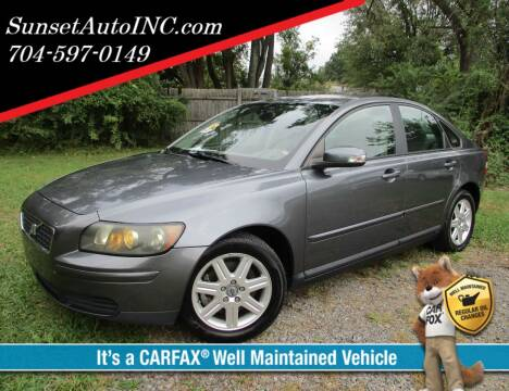 2007 Volvo S40 for sale at Sunset Auto in Charlotte NC