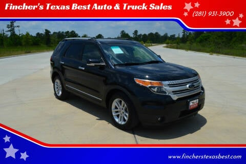 2014 Ford Explorer for sale at Fincher's Texas Best Auto & Truck Sales in Tomball TX