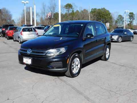 2013 Volkswagen Tiguan for sale at Paniagua Auto Mall in Dalton GA