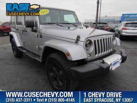 2014 Jeep Wrangler Unlimited for sale at East Syracuse Performance Sales & Service in Syracuse NY