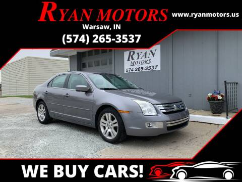 2007 Ford Fusion for sale at Ryan Motors LLC in Warsaw IN
