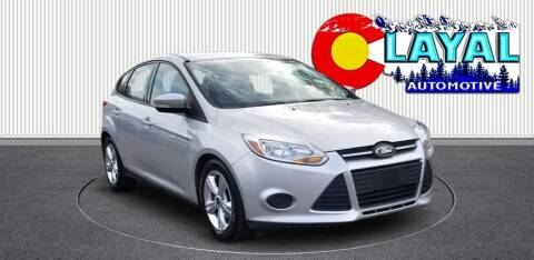 2014 Ford Focus for sale at Layal Automotive in Englewood CO