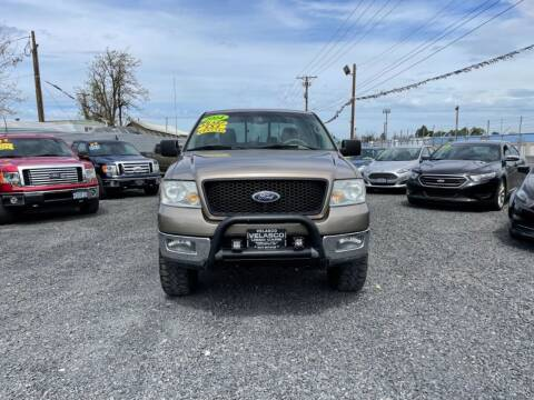 2004 Ford F-150 for sale at Velascos Used Car Sales in Hermiston OR