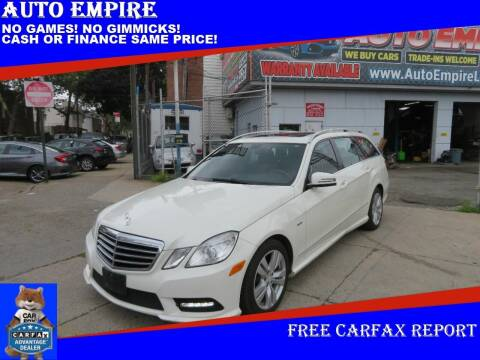 2012 Mercedes-Benz E-Class for sale at Auto Empire in Brooklyn NY