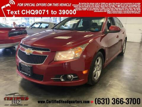 2011 Chevrolet Cruze for sale at CERTIFIED HEADQUARTERS in St James NY