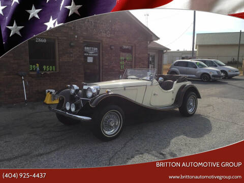 1937 Jaguar S-Type for sale at Britton Automotive Group in Loganville GA