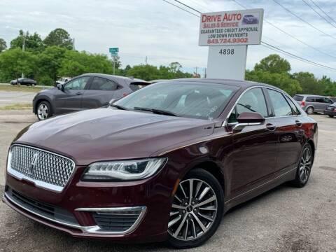 2017 Lincoln MKZ for sale at Drive Auto Sales & Service, LLC. in North Charleston SC