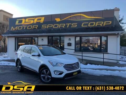 2015 Hyundai Santa Fe for sale at DSA Motor Sports Corp in Commack NY