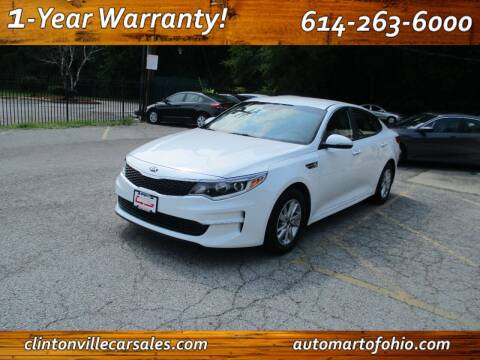 2017 Kia Optima for sale at Clintonville Car Sales - AutoMart of Ohio in Columbus OH