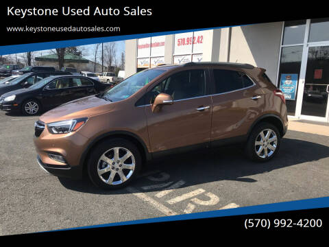 2017 Buick Encore for sale at Keystone Used Auto Sales in Brodheadsville PA
