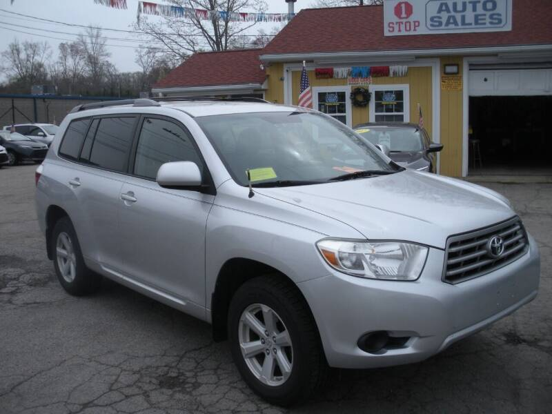 2010 Toyota Highlander for sale at One Stop Auto Sales in North Attleboro MA