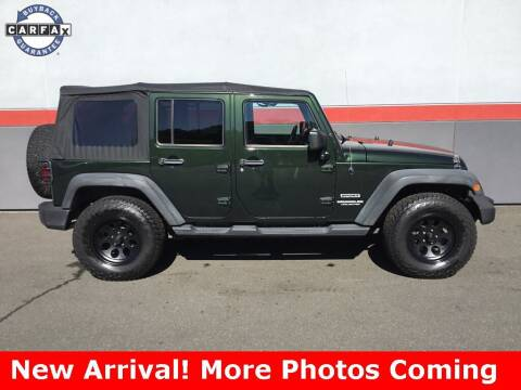 2011 Jeep Wrangler Unlimited for sale at Road Ready Used Cars in Ansonia CT
