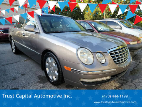 2008 Kia Amanti for sale at Trust Capital Automotive Inc. in Covington GA
