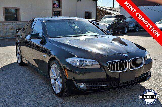 2012 BMW 5 Series for sale at LAKESIDE MOTORS, INC. in Sachse TX