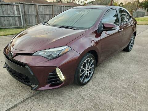 2017 Toyota Corolla for sale at MOTORSPORTS IMPORTS in Houston TX
