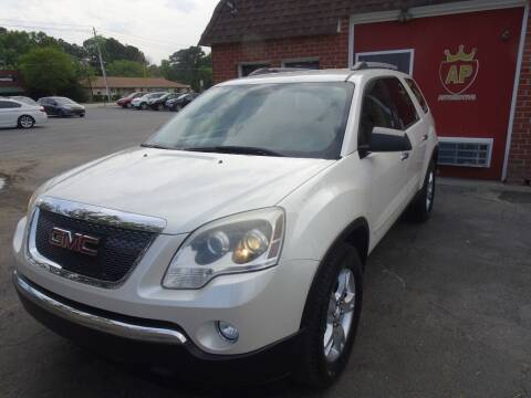 2011 GMC Acadia for sale at AP Automotive in Cary NC