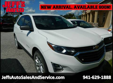2018 Chevrolet Equinox for sale at Jeff's Auto Sales & Service in Port Charlotte FL