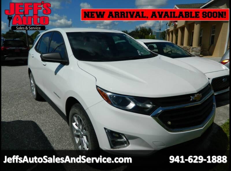 2018 Chevrolet Equinox for sale at Jeff's Auto Sales & Service in Port Charlotte FL