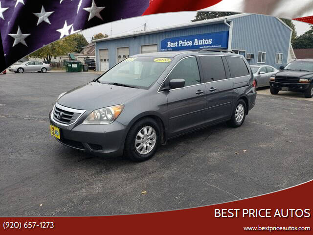 2010 Honda Odyssey for sale at Best Price Autos in Two Rivers WI