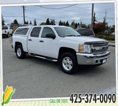 2013 Chevrolet Silverado 1500 for sale at Corn Motors in Everett WA
