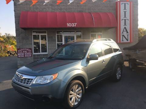 2012 Subaru Forester for sale at Titan Auto Sales LLC in Albany NY
