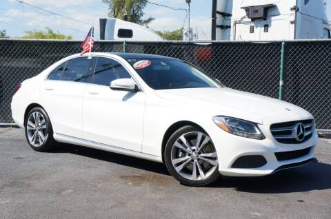 2015 Mercedes-Benz C-Class for sale at MATRIX AUTO SALES INC in Miami FL