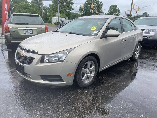 2012 Chevrolet Cruze for sale at PUTNAM AUTO SALES INC in Marietta OH