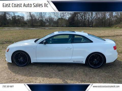 2016 Audi A5 for sale at East Coast Auto Sales llc in Virginia Beach VA