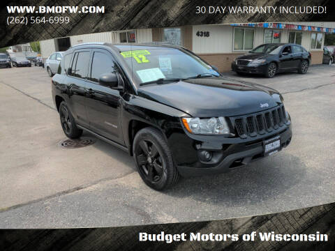 2012 Jeep Compass for sale at Budget Motors of Wisconsin in Racine WI