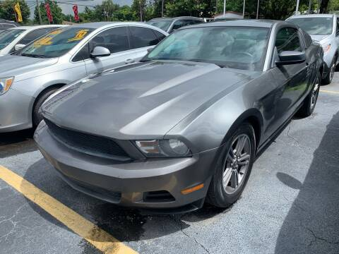 2010 Ford Mustang for sale at America Auto Wholesale Inc in Miami FL