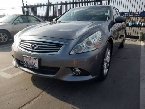 2012 Infiniti G37 Sedan for sale at Best Quality Auto Sales in Sun Valley CA
