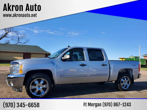 2012 Chevrolet Silverado 1500 for sale at Akron Auto in Akron CO