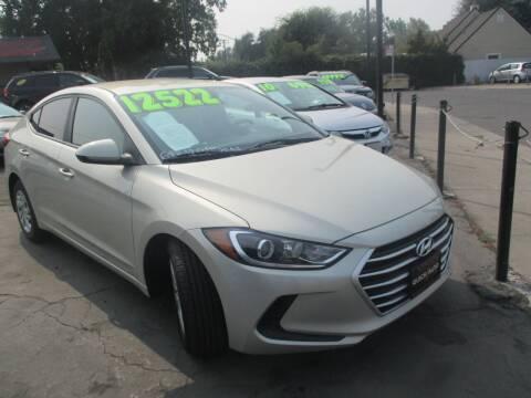 2017 Hyundai Elantra for sale at Quick Auto Sales in Modesto CA