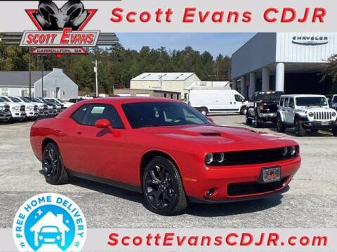 2020 Dodge Challenger for sale at SCOTT EVANS CHRYSLER DODGE in Carrollton GA