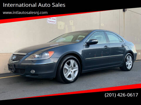 2008 Acura RL for sale at International Auto Sales in Hasbrouck Heights NJ