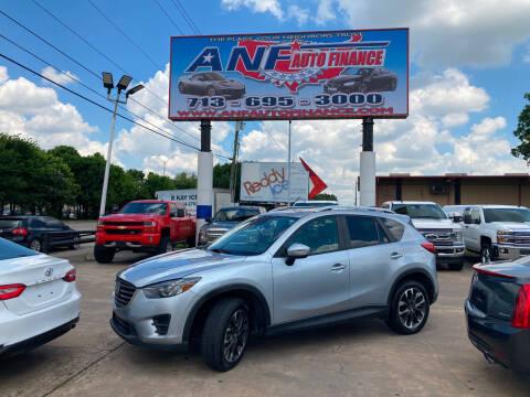 2016 Mazda CX-5 for sale at ANF AUTO FINANCE in Houston TX
